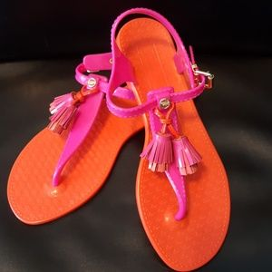 JUICY COUTURE Wisp Jelly Thong Sandals